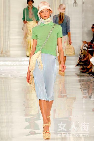 Ralph Lauren2012春夏女装系列