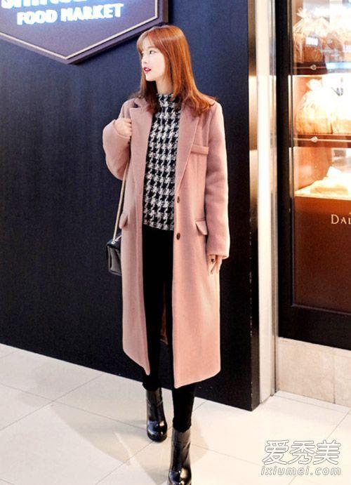 2016韩国最新大衣街拍 比画报还唯美(2)